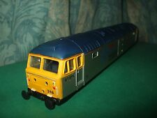 HORNBY EX LIMA CLASS 47 COTSWOLD RAIL SILVER LOCO BODY ONLY - CAM PEAK