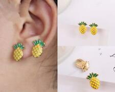 Fashion Jewellery Pineapple Shape Earrings Ear Studs Lovely Colour Girls 1 Pair