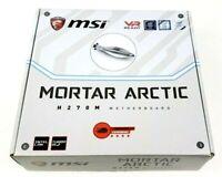 MSI H270M MORTAR ARCTIC LGA 1151 Intel DDR4 HDMI mATX M.2 Motherboard *READ*