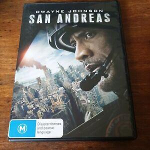 San Andreas DVD R4 Like New! FREE POST