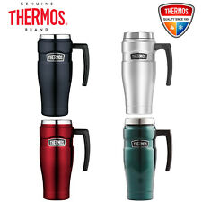 NEW Thermos Stainless King S/Steel Vacuum Insulated Travel Mug with Handle 470ml