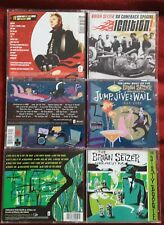 BRIAN SETZER '68 COMEBACK SPECIAL / ORCHESTRA - IGNITION , DIRTY BOOGIE... CD'S
