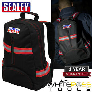 Sealey Backpack with Reflective Strips 430mm