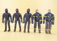 "lot of 5 SOLIDER ACTION figure 3.75"" old #Tu8"