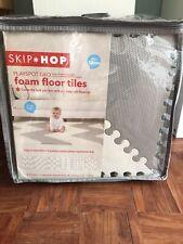 Skip Hop Playspot Geo Foam Floor Tiles Grey White