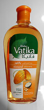 Dabur Vatika 200ml Almond Enriched Hair Oil w/ Coconut Sesame Soft & Shine USA