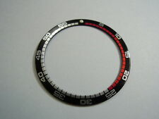 NEW RALLY BEZEL LARGE INSERT FOR SEIKO DIVER'S 7S26 / 6309 / 6105 / 7002