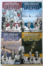 The Walking Dead Vol. 1 2 3 & 4 Image Graphic Novel Comic Book Lot