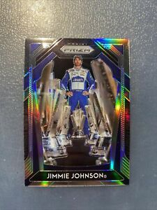 2020 Panini Prizm Racing PRIZM Parallel Card JIMMIE JOHNSON