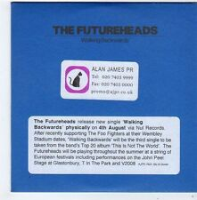 (FG489) The Futureheads, Walking Backwards - 2008 DJ CD