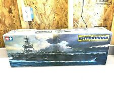 New ListingTamiya 1985 1:350 Cvn-65 Uss Enterprise Us Aircraft Carrier Model Kit- Nib #7307
