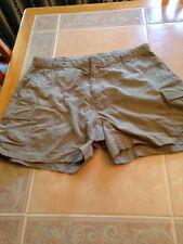 """"""" THE NORTH FACE """" Women's Size Large Nylon Camping & Hiking Shorts"""