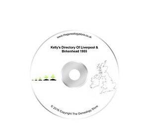 Kelly's Directory Of Liverpool & Birkenhead 1955