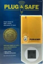 Plug & Safe Alarm Motion Sensor Detector Wireless Home Theft Security System PS8