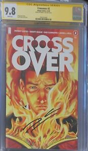 Crossover #2 CGC SS 9.8 Signed Donny Cates