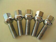 20 Pcs Lug Bolts Lugs Nuts Ball Seat 14x1.5 VW Audi 60mm Shank