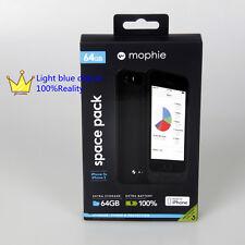 Mophie Space Pack 1700mah sono dotati di memoria 64g Nero per iPhone/iPhone 5s/5 se
