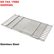 Replacement BBQ Stainless Steel Adjustable Cooking Grates Universal Retains NEW