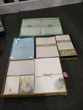 Lot Of 4 Vintage Stationary Sets