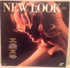 NEW LOOK A VIDEO MAGAZINE FOR MEN LASERDISC NL1001 SPRING '82 RARE ADULT