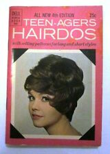 Rare original Dell Purse Book Teen-Agers Hairdos 4th Edition 1965 printed in USA