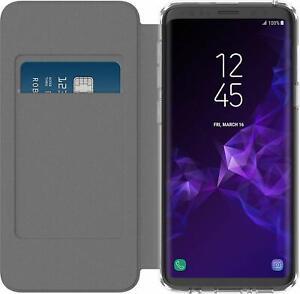Incipio Portefeuille Flip Folio Étui Pour Samsung Galaxy S9/S9 + Plus Clair/