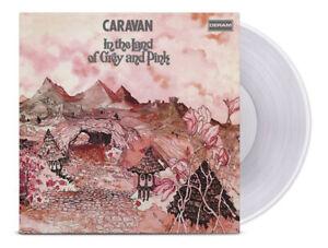 CARAVAN IN THE LAND OF GREY AND PINK HMV EXCLUSIVE TRANSPARENT VINYL - SEALED !