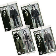 KISS 12 Inch Action Figures Dressed To Kill Re-Issue Series: Set of all 4