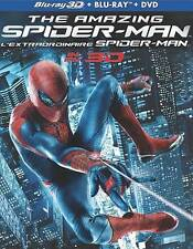 The Amazing Spider-Man 3D (Blu-ray 3D, Blu-ray, Slipcover, 2012, Canadian)