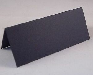 100 Navy Blue Wedding / Party Table Place Name Cards Blank - UK Card Crafts