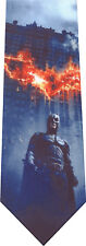 BATMAN BURNING HIS SIGN NECKTIE NEW NOVELTY TIE