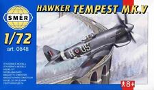 HAWKER TEMPEST Mk V (RAF MARKINGS) #848 1/72 SMER