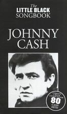 The Little Black Songbook Johnny Cash Learn Play Piano Guitar Lyrics Music Book