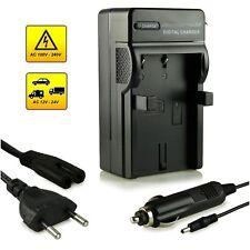 3 in 1 Carica Batteria Rete+Auto per NIKON EN-EL9/EL9A D40 D40x D60 D3000 D5000