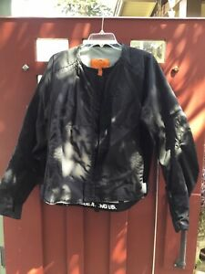 Icon textile mesh Black motorcycle MERC jacket XL