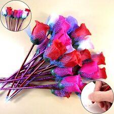 Elegant Rose Flower Pen Ballpoint Stationery Office School Pen Gift 1pc