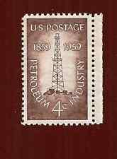 US MINT STAMP SCOTT # 1134 PETROLEUM INDUSTRY 4 CENT 1959