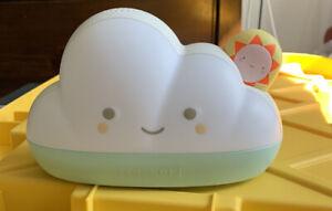 Skip Hop Sleep Training Alarm Clock for Toddlers, Dream&Shine Cloud, No package