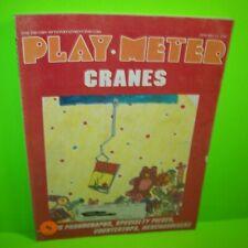Play Meter Magazine Jan 1987 Video Arcade Games Pinball Machines 720 VS Sky Kid