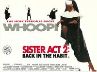 Sister Act 2 movie poster - Whoopi Goldberg - 12 x 16 inches