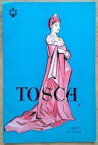 Tosca (the film of the opera) programme Royal Festival Hall 1958 Franca Duval