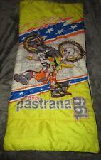 VINTAGE TRAVIS PASTRANA 199 DIRT BIKE MOTORCYCLE RACING CAMPING SLEEPING BAG