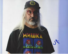 J MASCIS DINOSAUR JR. SINGER SIGNED AUTOGRAPH 8X10 PHOTO B w/COA FARM GUITAR