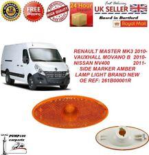 RENAULT MASTER MK3 VAUXHALL MOVANO B NISSAN NV400 SIDE MARKER LIGHT 261B00001R