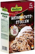 Werner`s Weihnachtsstollen sächsische Art - ergibt 1 kg Stollen - Backmischung