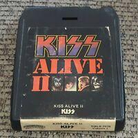 Kiss Alive II Volume 1 Casablanca 8 Track Tape NBL8-7076 1977 LATE NITE BARGAIN