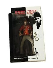 AL PACINO TONY MONTANA SCARFACE HAND SIGNED AUTOGRAPHED TOY DOLL FIGURE WITH COA