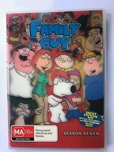 Family Guy Season 7 (2008, Region 4, 3 DVD set, Seth MacFarlane)