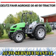 Deutz-fahr Same Agrokid 30 40 50 Tractor Workshop Service Repair Manual