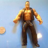 WWF Jakks Wrestling Action Figure The Rock Dwayne Johnson WWE WCW ECW NWO HOF